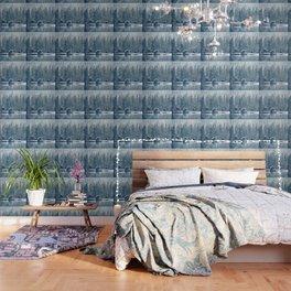 Winter's Cottage (Color) Wallpaper