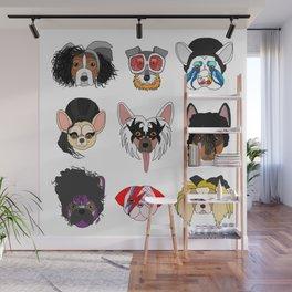 Pop Dogs Wall Mural