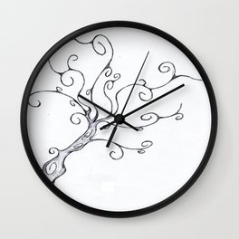 Burton Tree Wall Clock