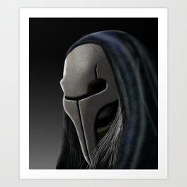 Orc Wizard Art Print