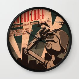Propaganda Series 2 Wall Clock