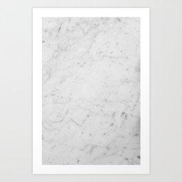 Marble Wallpaper Art Print