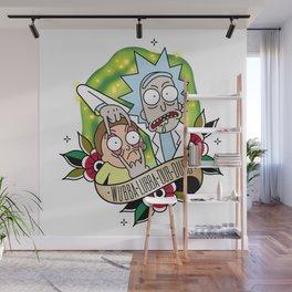 Wubba Lubba Dub Dubb Wall Mural