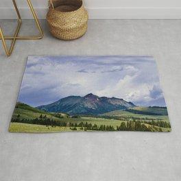 Electric Peak Yellowstone Rug