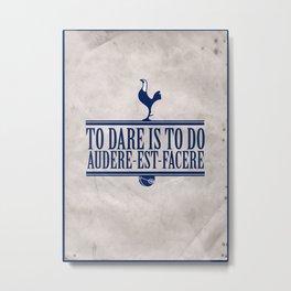 Tottenham Hotspur | 13/14 Premier League Metal Print