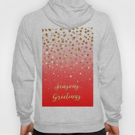 "Confetti Xmas ""Seasons Greetings"" Hoody"