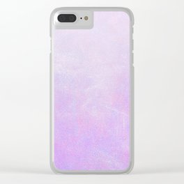 Lilac Ombre Clear iPhone Case