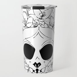Crocus skull Travel Mug