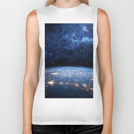 Earth and Galaxy Biker Tank