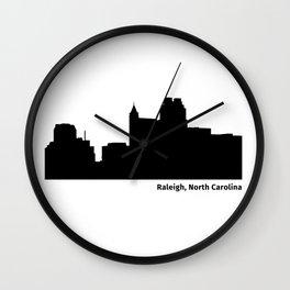 Ralleigh, North Carolina Wall Clock