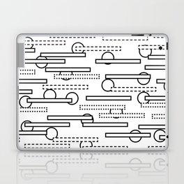 Rectangles+Circles Laptop & iPad Skin