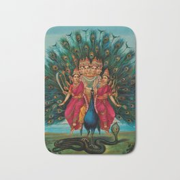 Hindu Art Bath Mat