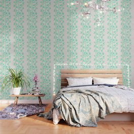 Bamboo Stems – Mint Palette Wallpaper