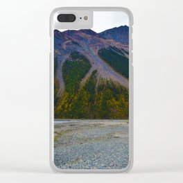 Kinney Flats on the Berg Lake Trail in British Columbia, Canada Clear iPhone Case