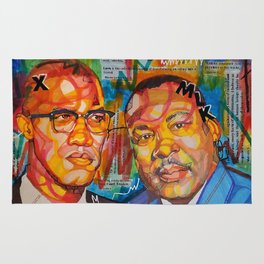 Malcolm X King Rug