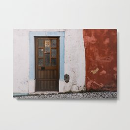 Door No 1 Metal Print
