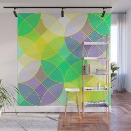 Elegant mosaic tile Wall Mural