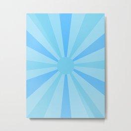 blue sunshine Metal Print