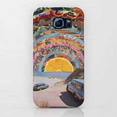 Orange sunset Galaxy S8 Slim Case