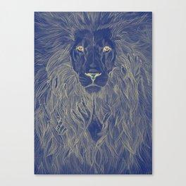 Lion's Secret Canvas Print