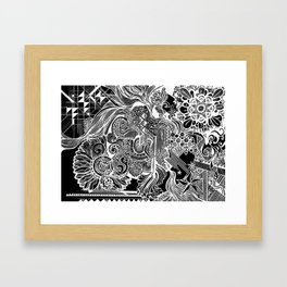 Discovering Who You Are Framed Art Print