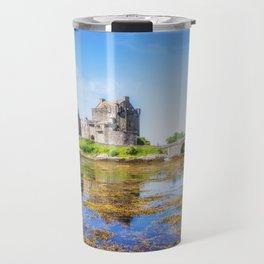 Eilean Donan in Summer Travel Mug