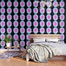agate, quartz, crystal stone pink blue lilac lilac lilac Wallpaper