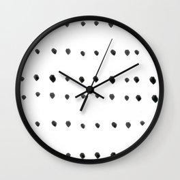 Modern boho dot Wall Clock