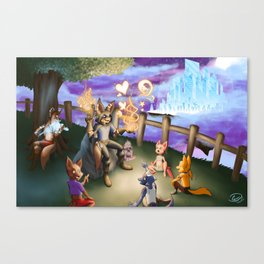 The Story Teller Canvas Print