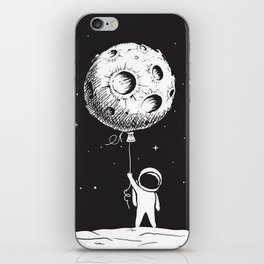 Fly Moon iPhone Skin
