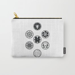 Factions black & white Carry-All Pouch