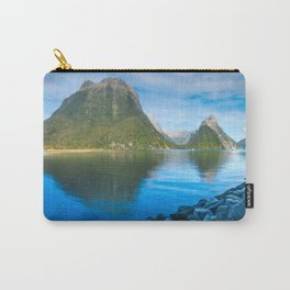 Serene Morning at Milford Sound Carry-All Pouch