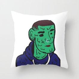 Sad Boy 2 Throw Pillow