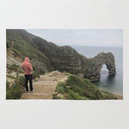 Path to Durdle Door England Rug