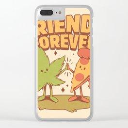 Cute Friends Clear iPhone Case
