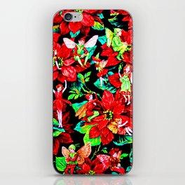 Fairy Flower | Christmas Spirit iPhone Skin
