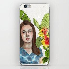 Girl Portrait 2 iPhone Skin
