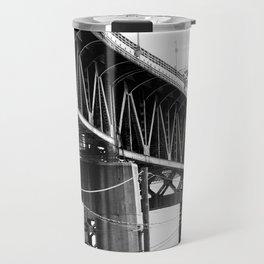Kosciuszko Bridge of NYC Travel Mug