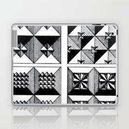 Engraved Patterns Laptop & iPad Skin