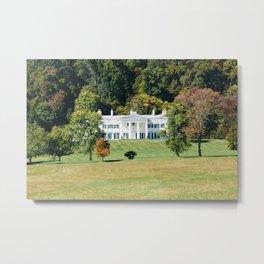 Morven Mansion Metal Print