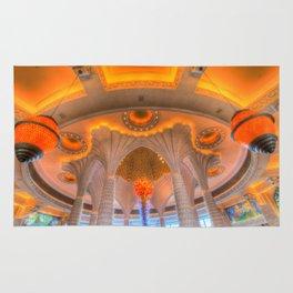 Atlantis Palm Hotel Ceiling Rug