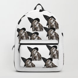 Happy Halloween Owl Backpack