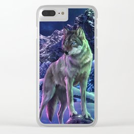 The Way of the Wolf Clear iPhone Case