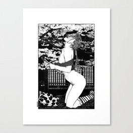 asc 495 - Le sacre du printemps (The spring cut) Canvas Print