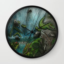 Valley of the Serpent King Wall Clock