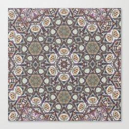 Mandala Of The Earth Canvas Print
