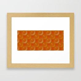 The sea of eyes Framed Art Print