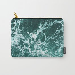 Upside Down Sea Water Splash Carry-All Pouch