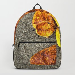 Autumn leave Backpack