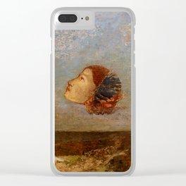 "Odilon Redon ""Hommage a Goya"" Clear iPhone Case"